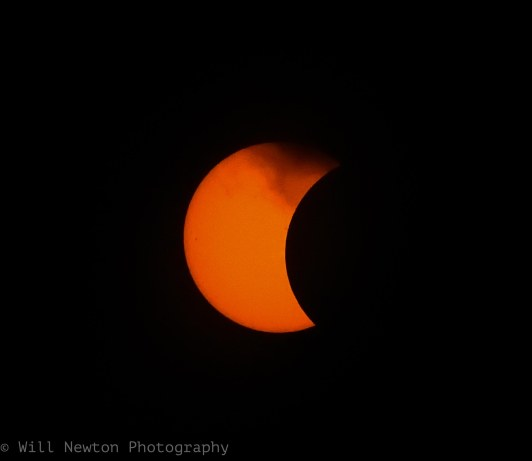 Solar Eclipse seen from Washington, D.C. August, 2017.