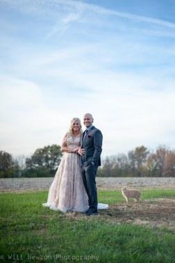 Erin and Evan's wedding. Evansville, IN. November, 2017.