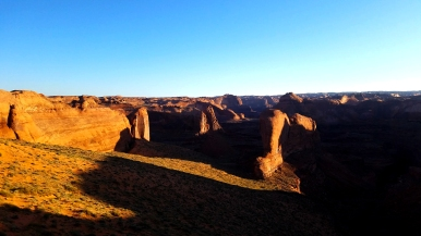 The morning sun rises above the Coyote Gulch region of Grand Staircase Escalante National Monument in souther Utah in May of 2017. (Photo by Will Newton)