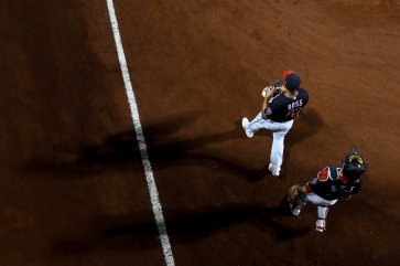 WASHINGTON, DC - OCTOBER 27: Game Five of the 2019 World Series at Nationals Park on October 27, 2019 in Washington, DC. (Photo by Will Newton/Getty Images)